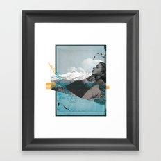 Mountain Myth Framed Art Print