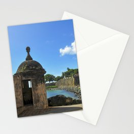 San Juan,fortress Stationery Cards