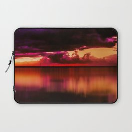 Another Place at Sunset Laptop Sleeve