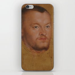 Lucas Cranach the Younger, 'Duke August of Saxony', approx. 1545 iPhone Skin