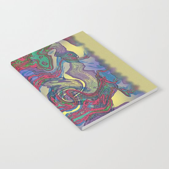 DRAGON WATER ABSTRACT Notebook