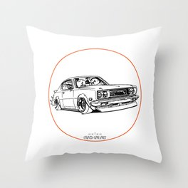Crazy Car Art 0197 Throw Pillow