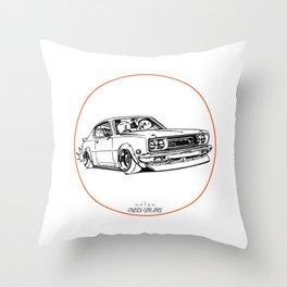 Crazy Car Art 0197 Throw Pillow