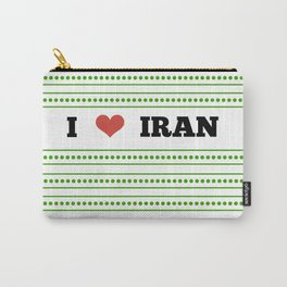I Love Iran Carry-All Pouch
