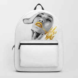 Dipped In Ivory Backpack