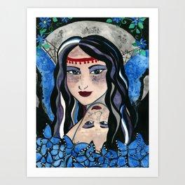 Queen Mab Weaver of Dreams Art Print