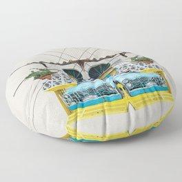Fruit Car - Beirut Floor Pillow