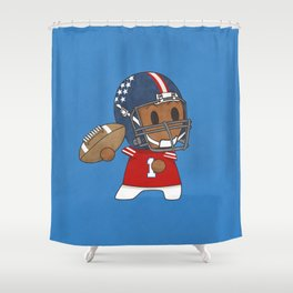 American Football II Shower Curtain