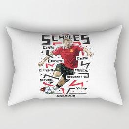 Paul Scholes Manchester United Rectangular Pillow