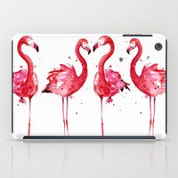 flamingo iPad Cases featuring Flamingo by Sam Nagel