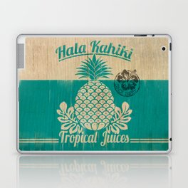 Hala Kahiki Juice Stand wooden board. Laptop & iPad Skin