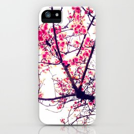 Cherry Blossom (Pink) iPhone Case