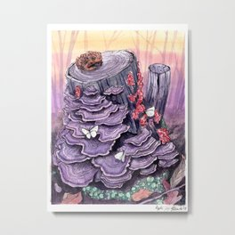 Fungus & Co. Metal Print