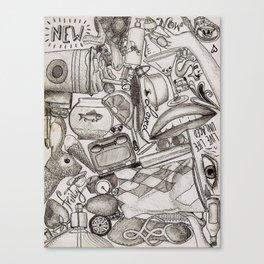 Kerbobbled Canvas Print