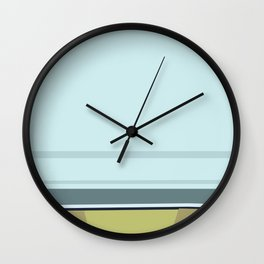 Santa Monica Horizon 0114 Wall Clock