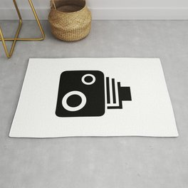 Isolated Speed Camera Rug