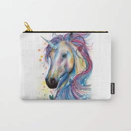 Whimsical Unicorn Carry-All Pouch