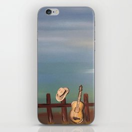 When I Think of Him iPhone Skin
