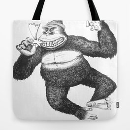 KingKongClaus Tote Bag