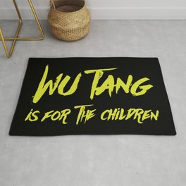 Wu Tang is for the Children Rug