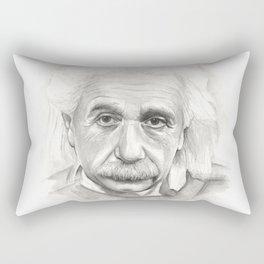 Albert Einstein Rectangular Pillow