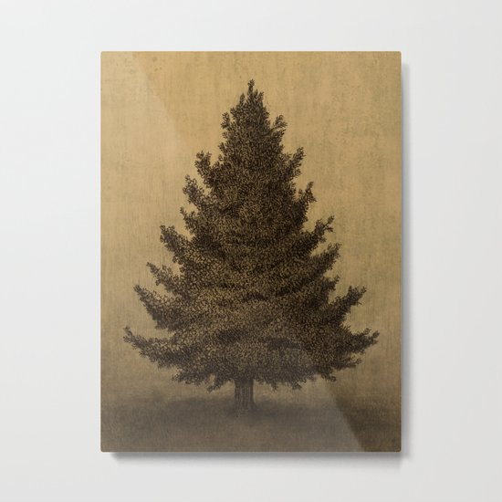 Lonely Pine  Metal Print