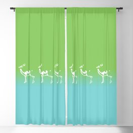 Spring is in the air deer 2 Blackout Curtain