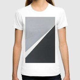 'London' Abstract acrylic on canvas T-shirt