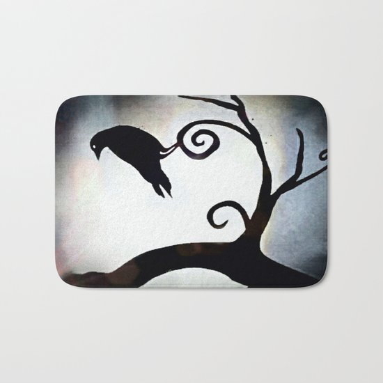 Spotlight Crow Bath Mat