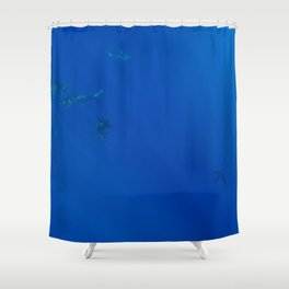 Hawaiian Shark VII Shower Curtain