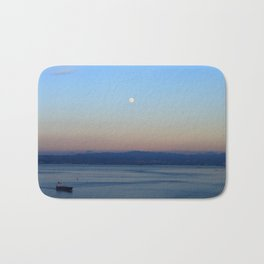 The Bay and the Moon Bath Mat