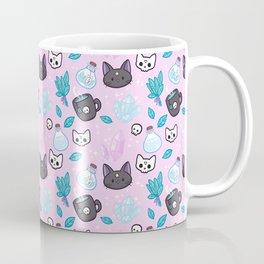 Herb Witch // Pink Coffee Mug