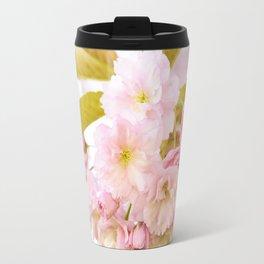 Sakura - Cherryblossom - Cherry blossom - Pink flowers on #Society6 Travel Mug
