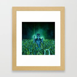 Virtual Dawn Framed Art Print