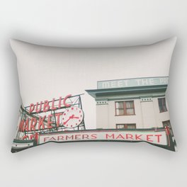Pikes Place- Seattle Rectangular Pillow