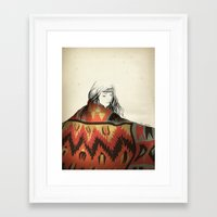 navajo Framed Art Prints featuring Navajo by Karen Hofstetter
