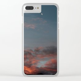 Abel Tasman Sunset Clear iPhone Case