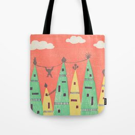 Towers Town Tote Bag