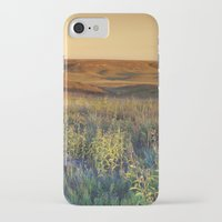 kansas iPhone & iPod Cases featuring Kansas landscape by Brad David