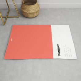 Not Pantone Collection #FF7062 Living Coral Rug