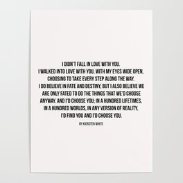 Poem Posters Society6
