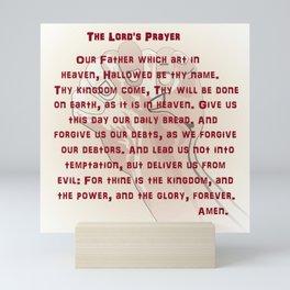 The Lord's Prayer Mini Art Print