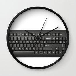 Keyboard Typewriter-style Device Arrangement Keys Switches Technology Input Wall Clock
