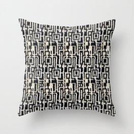 Maze Knit Throw Pillow