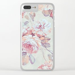 ROSES - 1318/1 Clear iPhone Case