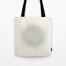 butterflies flying in a circle scatter in different directions. pastel Tote Bag