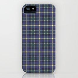 Scottish plaid 5 iPhone Case