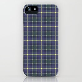Scottish plaid 5 iPhone Case