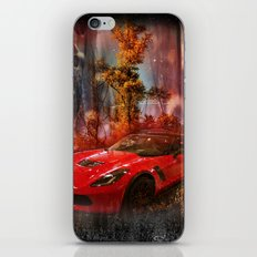 Driving Into A Strange New World iPhone & iPod Skin