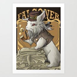 Professooor Falconer  Art Print